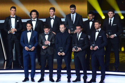 2012 FIFPro World XI