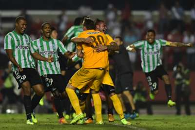 Sao Paulo 1 Atletico Nacional 0 (agg 1-1, 1-4 on penalties): Colombians reach final