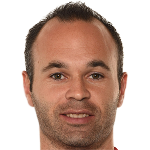 Andrs  Iniesta Lujn