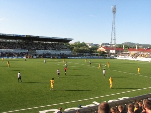 Aspmyra Stadion, Bod