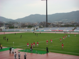 Honjō Athletic Stadium, Kitakyushu