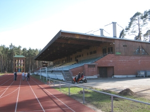 J. Dalia stadions, Valmier