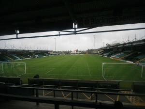 Huish Park Stadium, Yeovil, Somerset