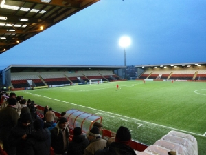 Excelsior Stadium, Airdrie