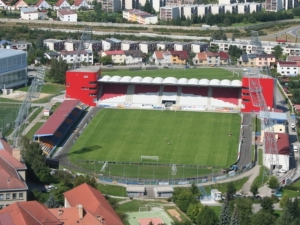 Stadion v Jirskov ulici