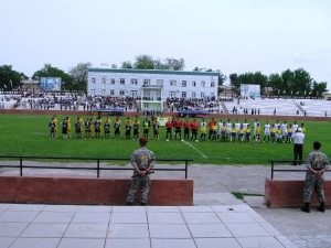 Stadion Pakhtakor, Qurghonteppa (Kurgan-Tyube)