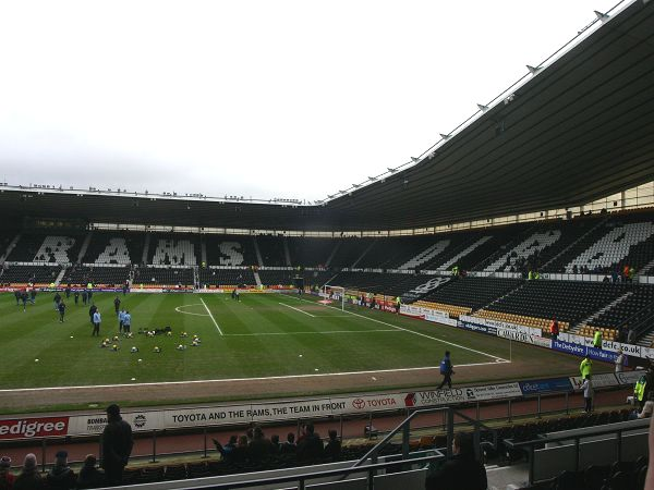 Pride Park Stadium, Derby