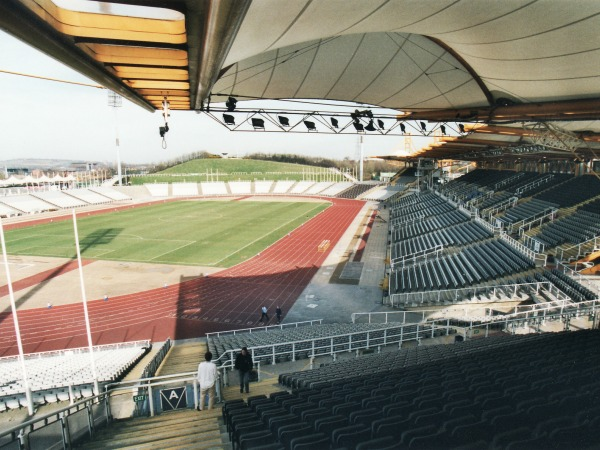 Don Valley Stadium, Sheffield, Yorkshire