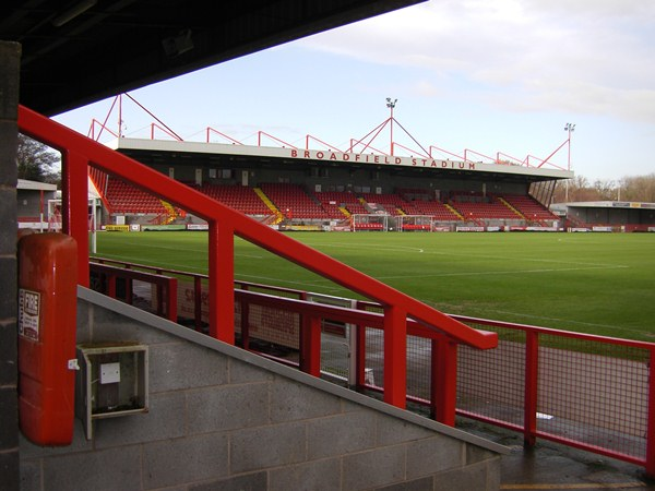 Broadfield Stadium, Crawley, West Sussex