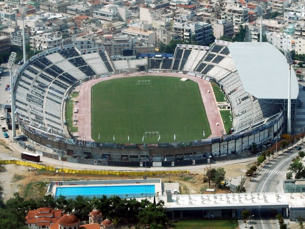 Stadio Toumbas, Thessalonki