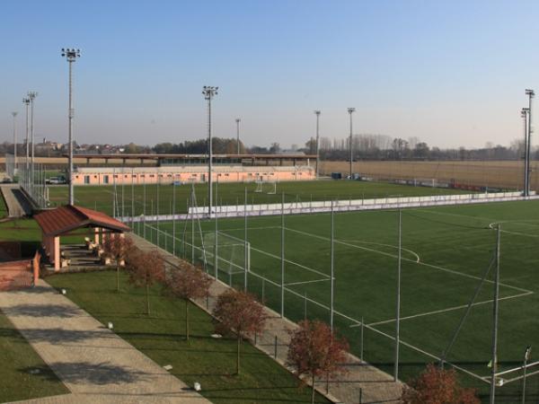 Il centro sportivo del Novara nuovo quartier generale del ritiro.