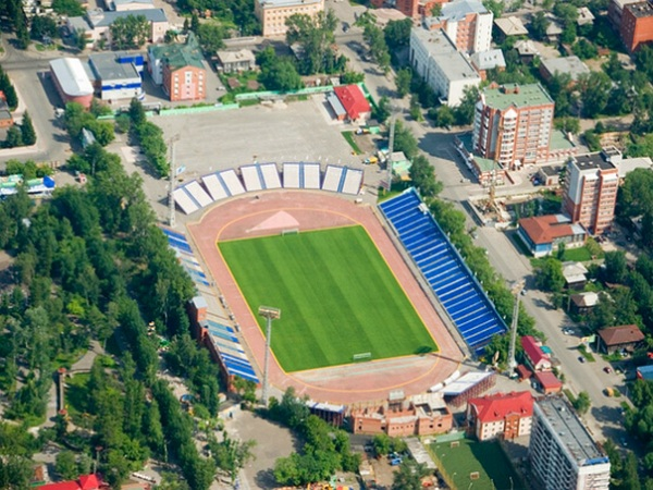 Stadion Trud, Tomsk
