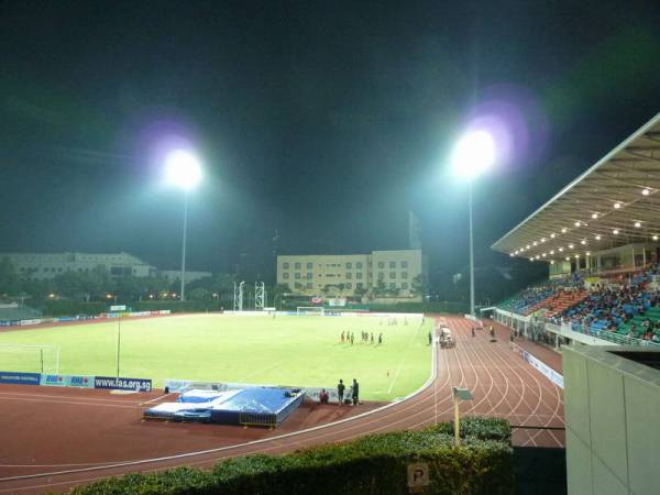 Bishan Stadium, Singapore