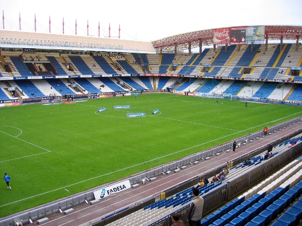 Estadio Municipal de Riazor, A Corua (La Corua)