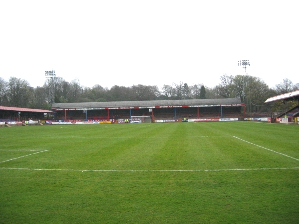 The EBB Stadium at The Recreation Ground, Aldershot, Hampshire