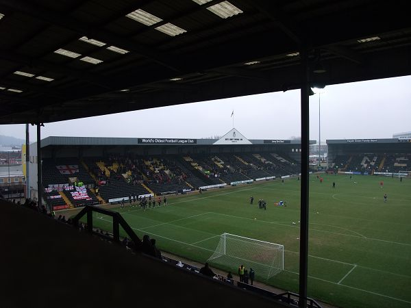 Meadow Lane Stadium, Nottingham, Nottinghamshire