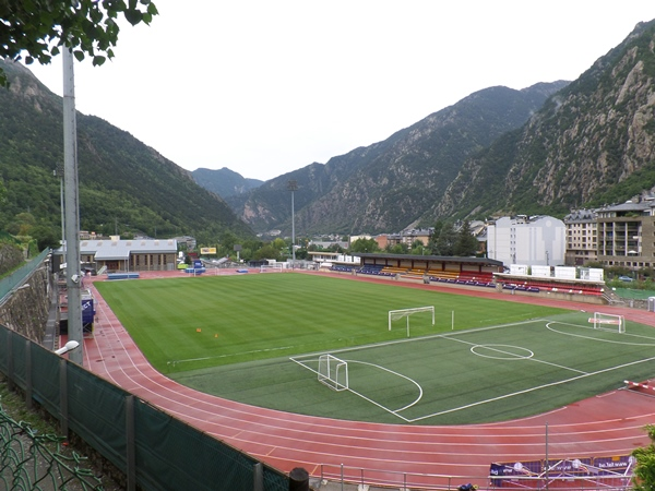 Estadi Comunal d'Andorra la Vella, Andorra la Vella